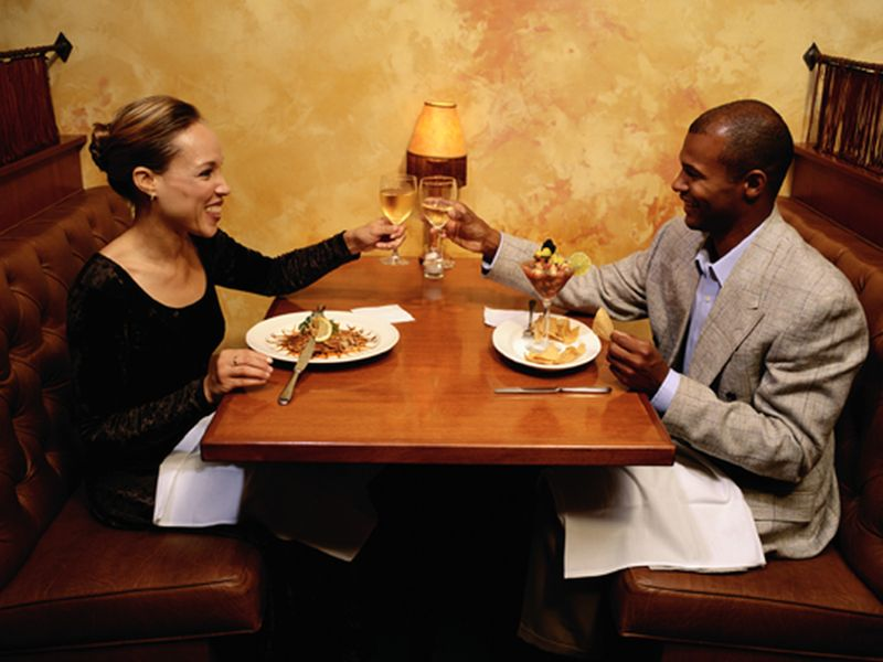 News Picture: Foods May Taste Better If You're Sitting