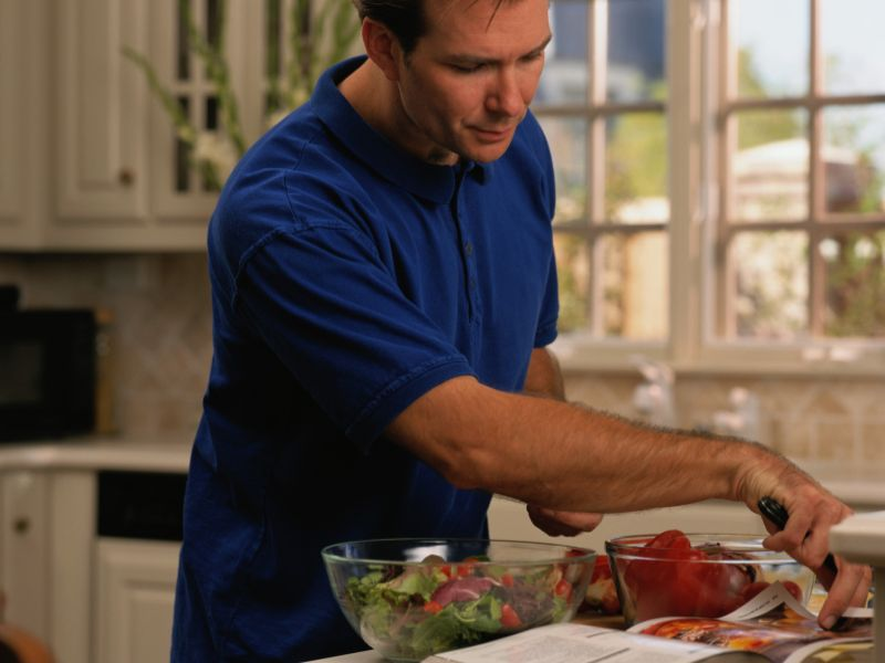 News Picture: Guys, Going Vegetarian Won't Lower Your Testosterone