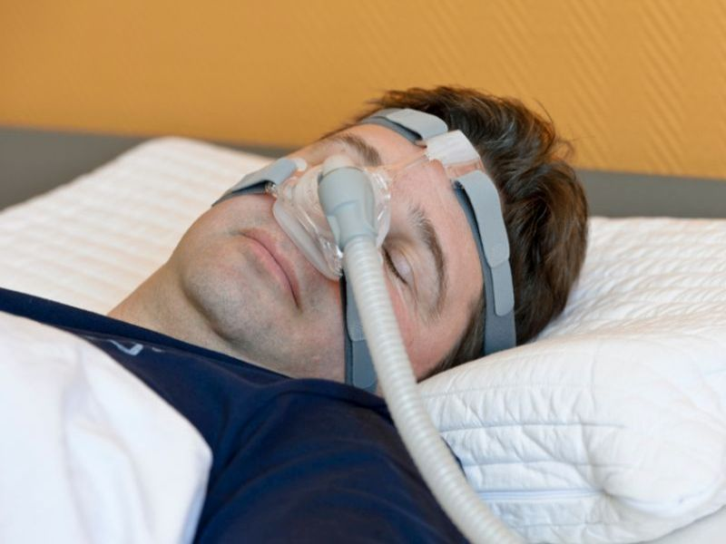News Picture: Sleep Apnea May Boost Alzheimer's Risk