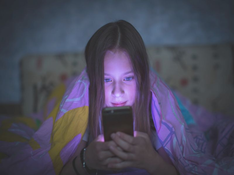 News Picture: Can Too Much Screen Time Dumb Down Your Kid?