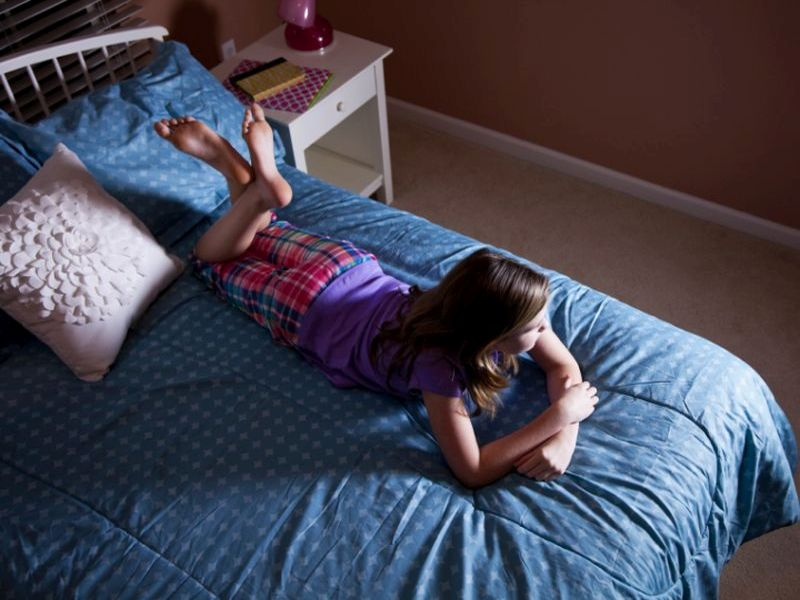 News Picture: Inactive Lifestyle Begins as Early as Age 7: Study