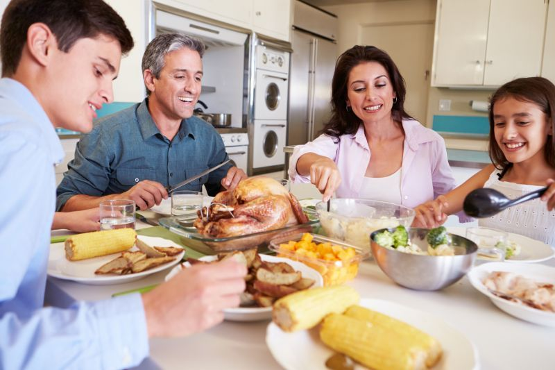 News Picture: Why You Should Make Family Meals Part of Your Busy Day