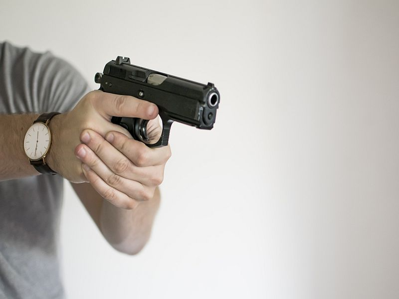 News Picture: Gun Surrender Laws Help Women Threatened by Domestic Violence