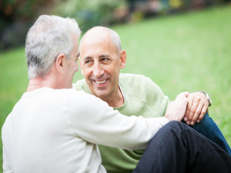 News Picture: How Common Is Dementia Among LGBT Seniors?