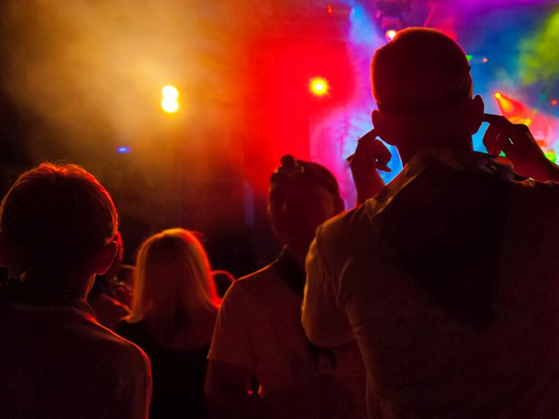 News Picture: Dance Club Scene Rife With Opioid Abuse