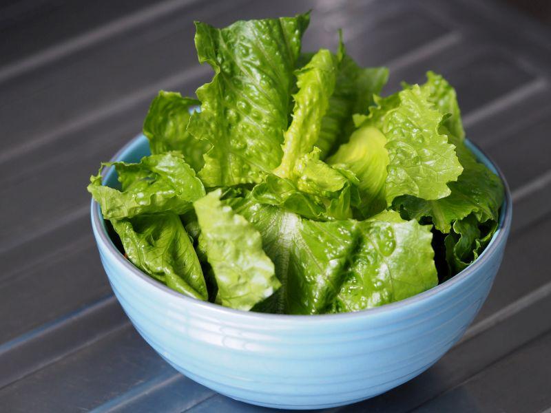 News Picture: California Farm Implicated in Outbreak of E. coli Tied to Romaine Lettuce