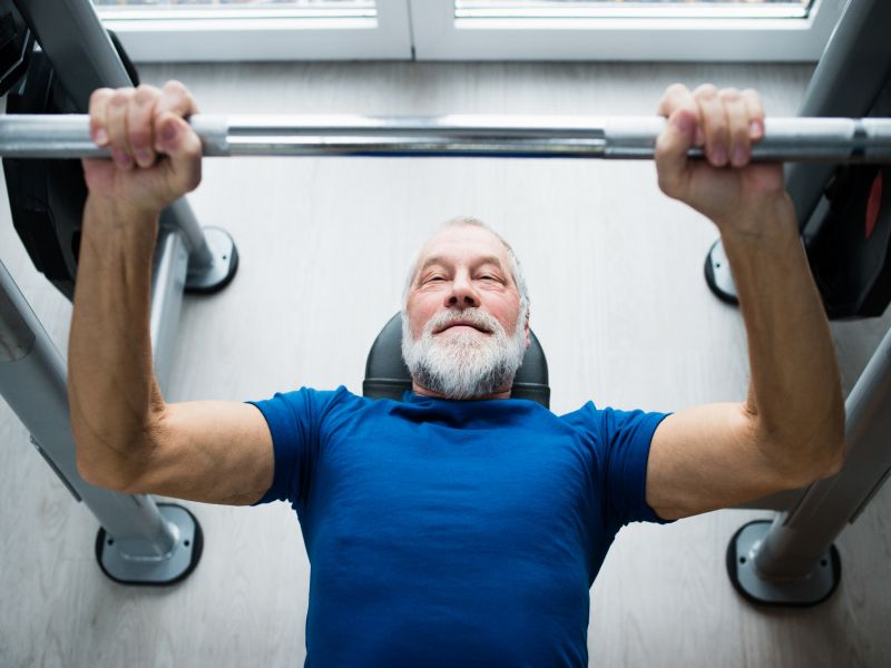 News Picture: Even Age 80 Is Not Too Late to Begin Exercising: Study