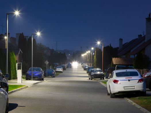 News Picture: Streetlights Could Be Harming Your Teen's Sleep, Mental Health: Study