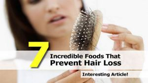 7 Incredible Foods That Prevent Hair Loss Channel365