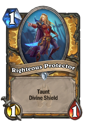 righteous protector hearthstone cards