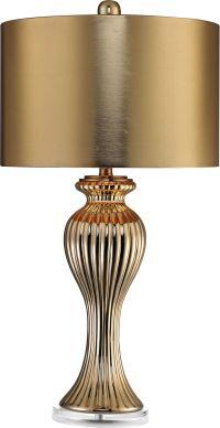 Ribbed Tulip Table Lamp | HedgeApple