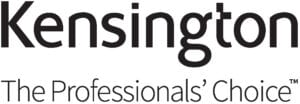 Kensington Logo ergonomiska produkter för ditt hemmakontor