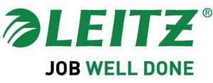 Leitz Logo kontorsutrustning för hemmakontoret