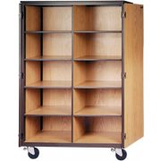 Mobile General Storage Cabinets By Ironwood Metal