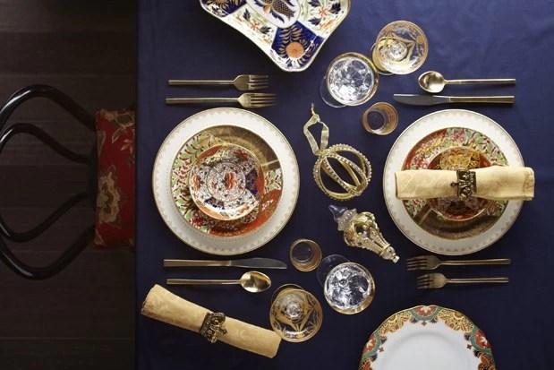 Décoration de table, style russe