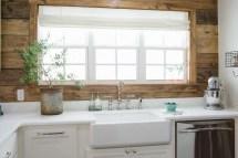 Fixer Upper Kitchen Shiplap Walls