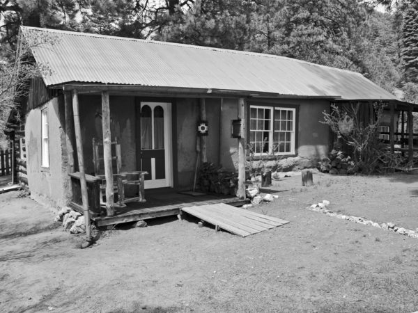 Courtesy D.H. Lawrence Ranch Alliance An undated black and white photo shows how the ranch looked at an earlier time.