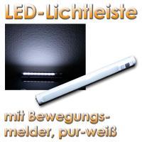 LED-Lichtleiste mit PIR Bewegungsmelder, wei im LED ...