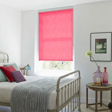 Pink Roller blinds  Dusky to Hot Pink Roller Blinds  Hillarys