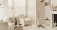 Wooden and faux-wood living room blinds| Hillarys