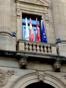 Flaggor i San Sebastian