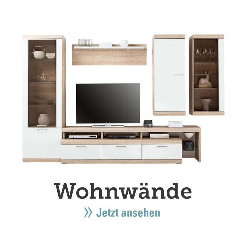 Wohnwand Weiss Moebel Hoeffner