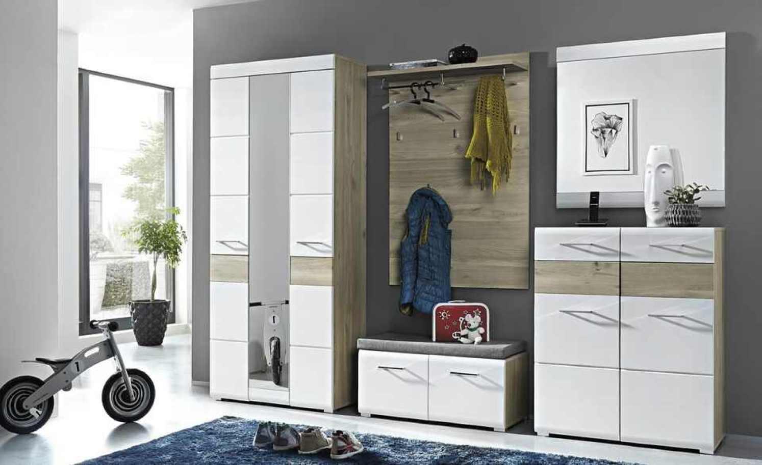 Garderoben-Set, 5-teilig Riva - Modernes Design