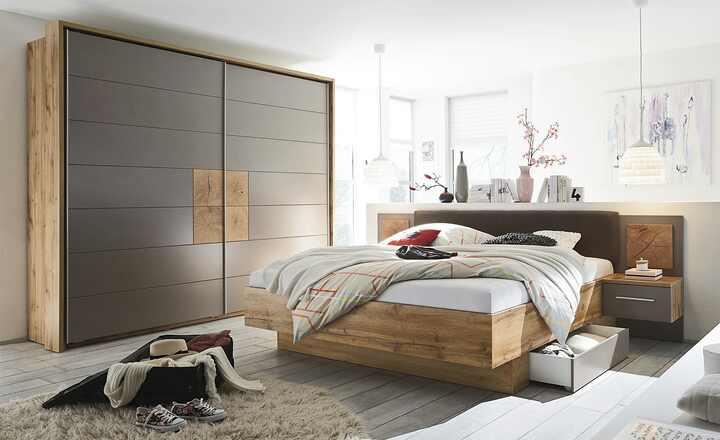 uno Schlafzimmer 4teilig mit Bettkasten Campus