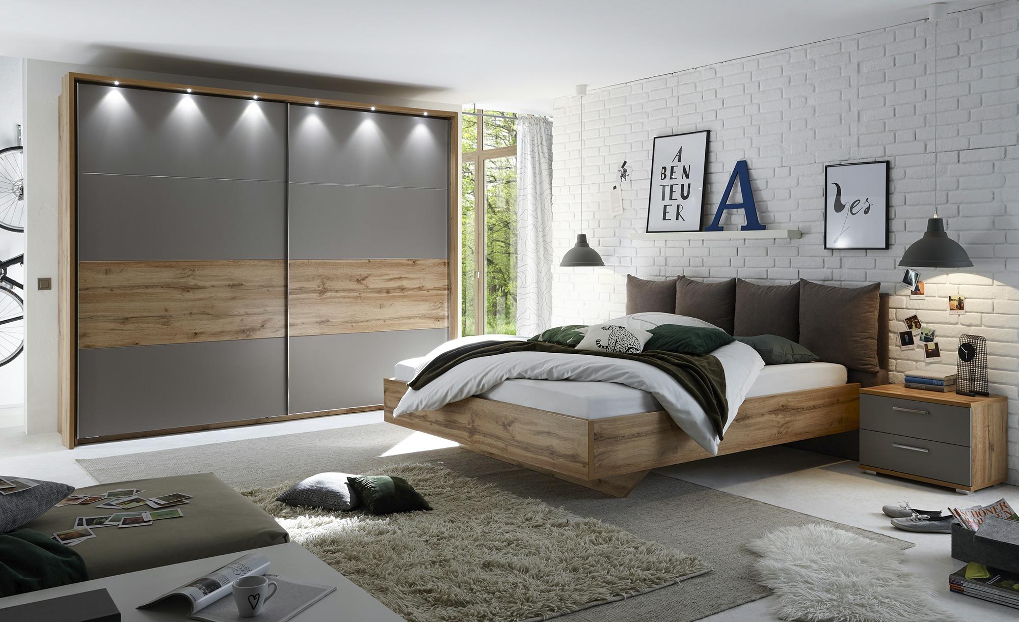 Schlafzimmer Höffner  Bett Mit 20 Nachtkommoden 20x200 - Weiß