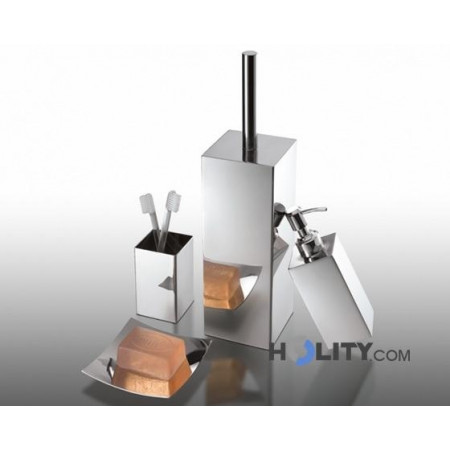 Cerchi Set accessori bagno in acciaio inox h107128