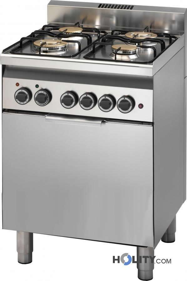 Cerchi Cucina professionale a gas con forno elettrico a