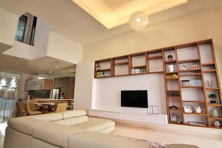 10 elegantly clean cut tv console and