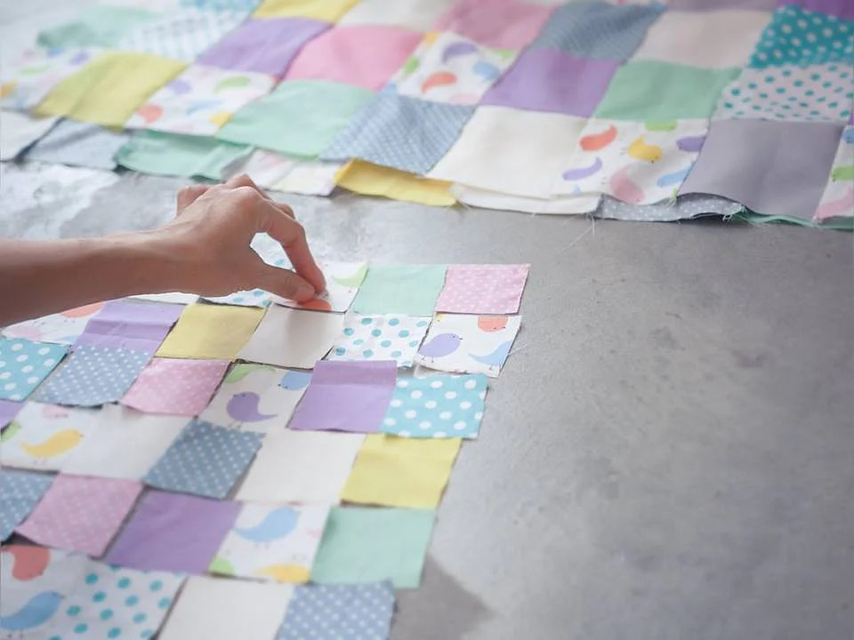 Patchwork Baby Grow Blanket This Online Store Repurposes Old Baby Clothes Into A Cool