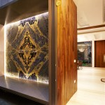 Feature Wall Design Using Stones Such As Marble And Quartz On Walls Home Decor Singapore