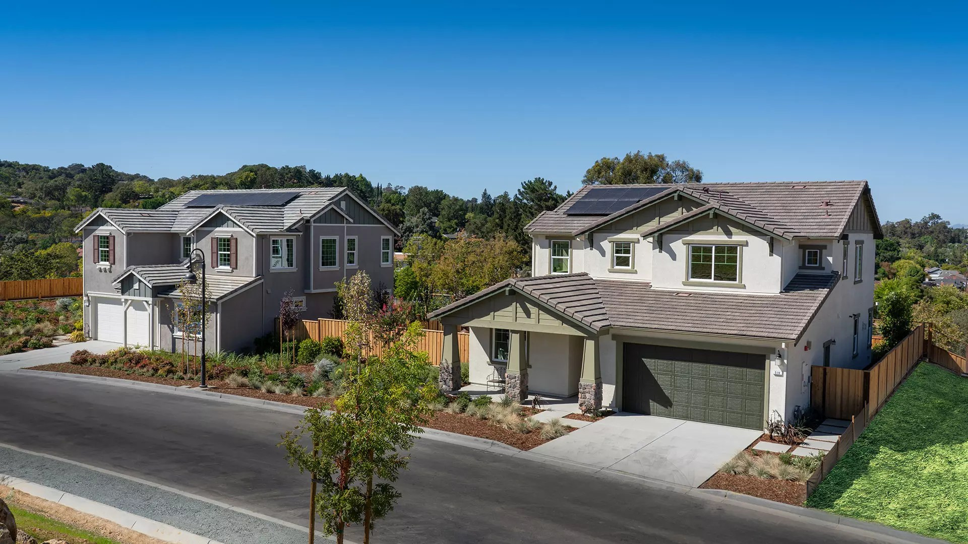 New Homes in Pleasant Hill  CA  Tananger Heights from DeNova Homes