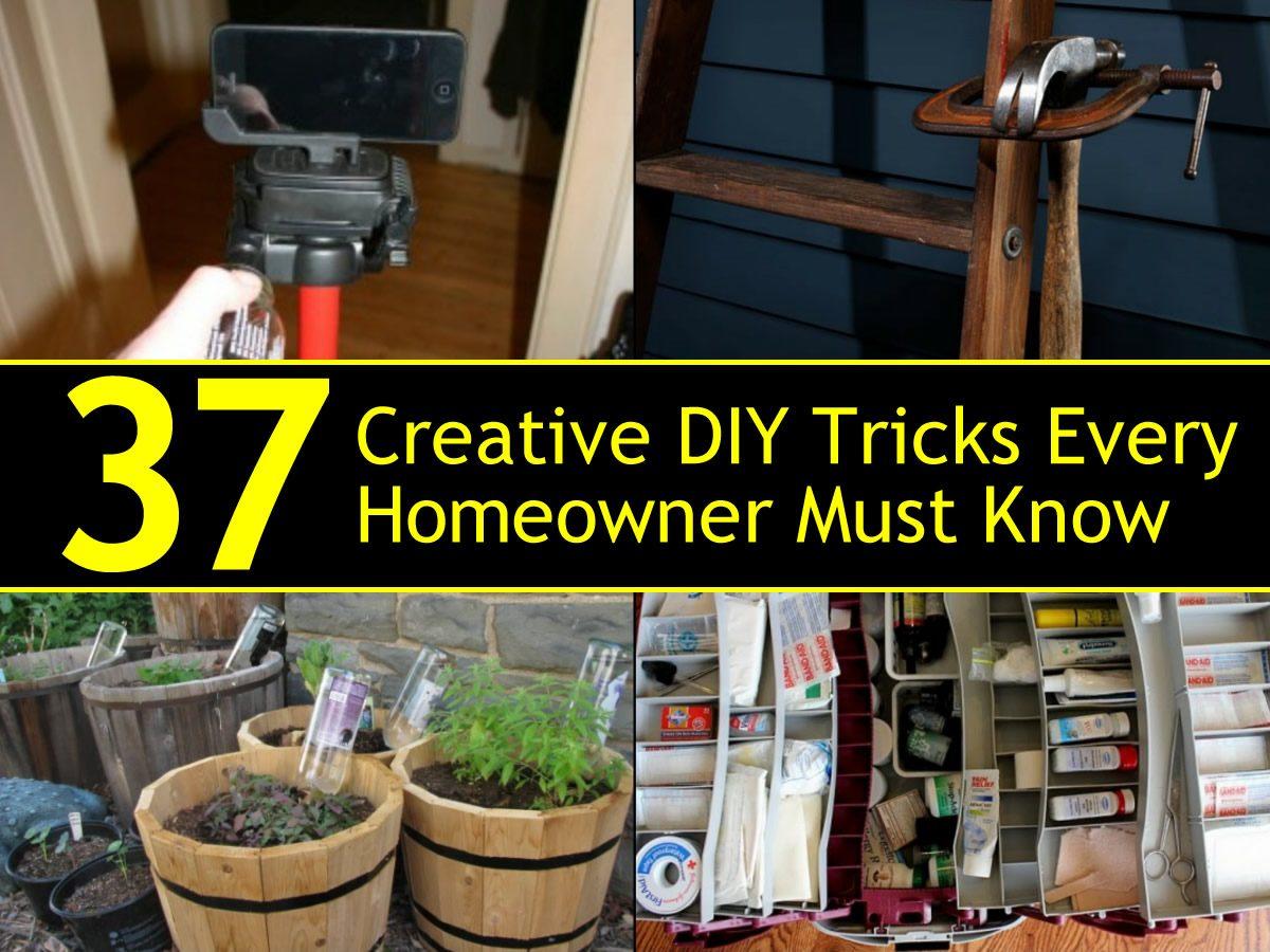 37 Creative Diy Tricks Every Homeowner Must Know