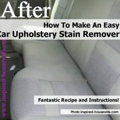 Sofa Stain Removal Tips Drexel Quality How To Make An Easy Car Upholstery Remover