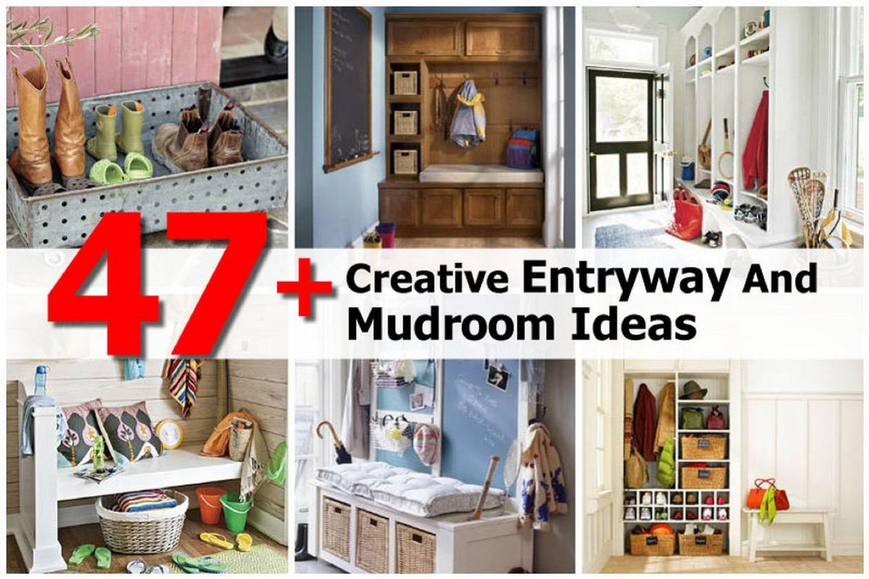 creative entryway and mudroom ideas l