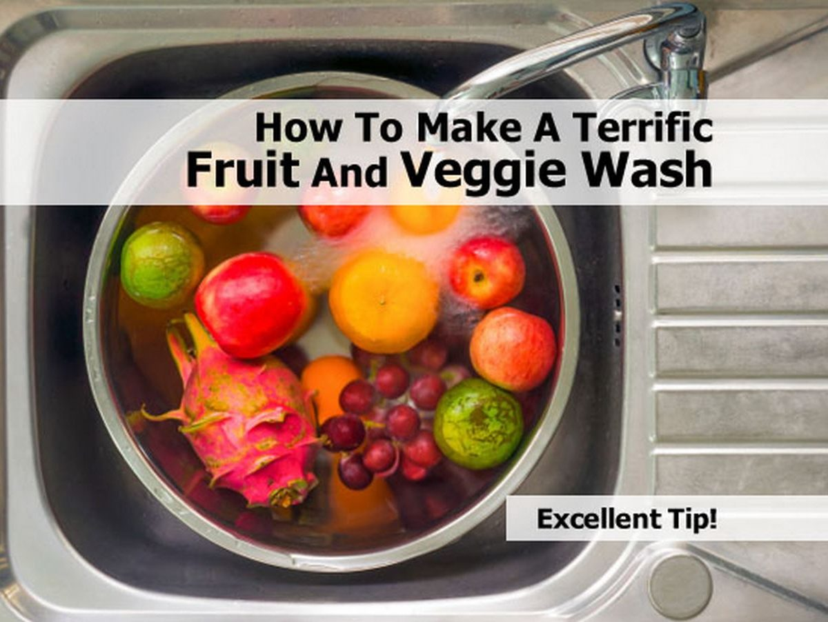 How To Make A Terrific Fruit And Veggie Wash