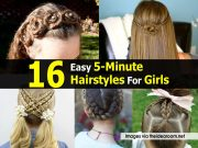 easy 5-minute hairstyles