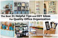Office Supplies Organization Ideas Minimalist