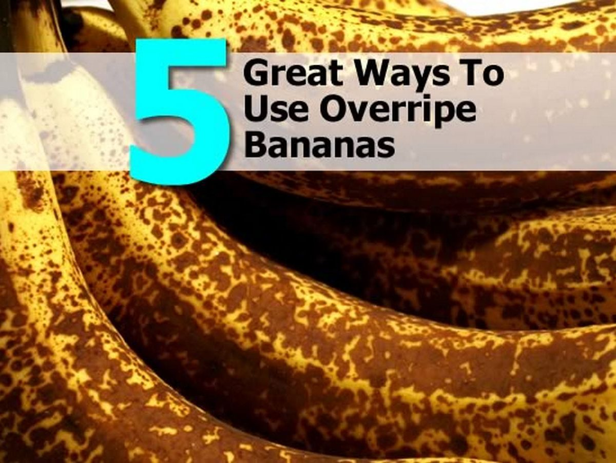 5 Great Ways To Use Overripe Bananas