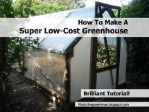 Make Super -cost Greenhouse