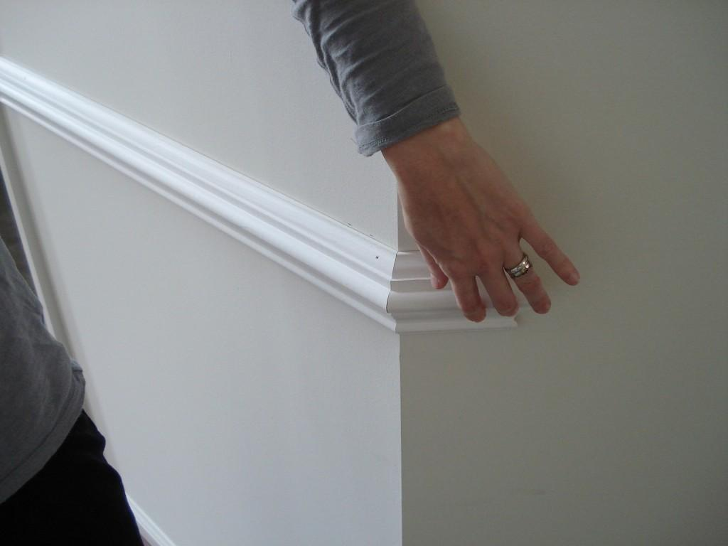 How To Install Trim On Odd Angled Walls