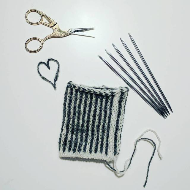 Im cheating on my hook dabbling in knitting again Justhellip