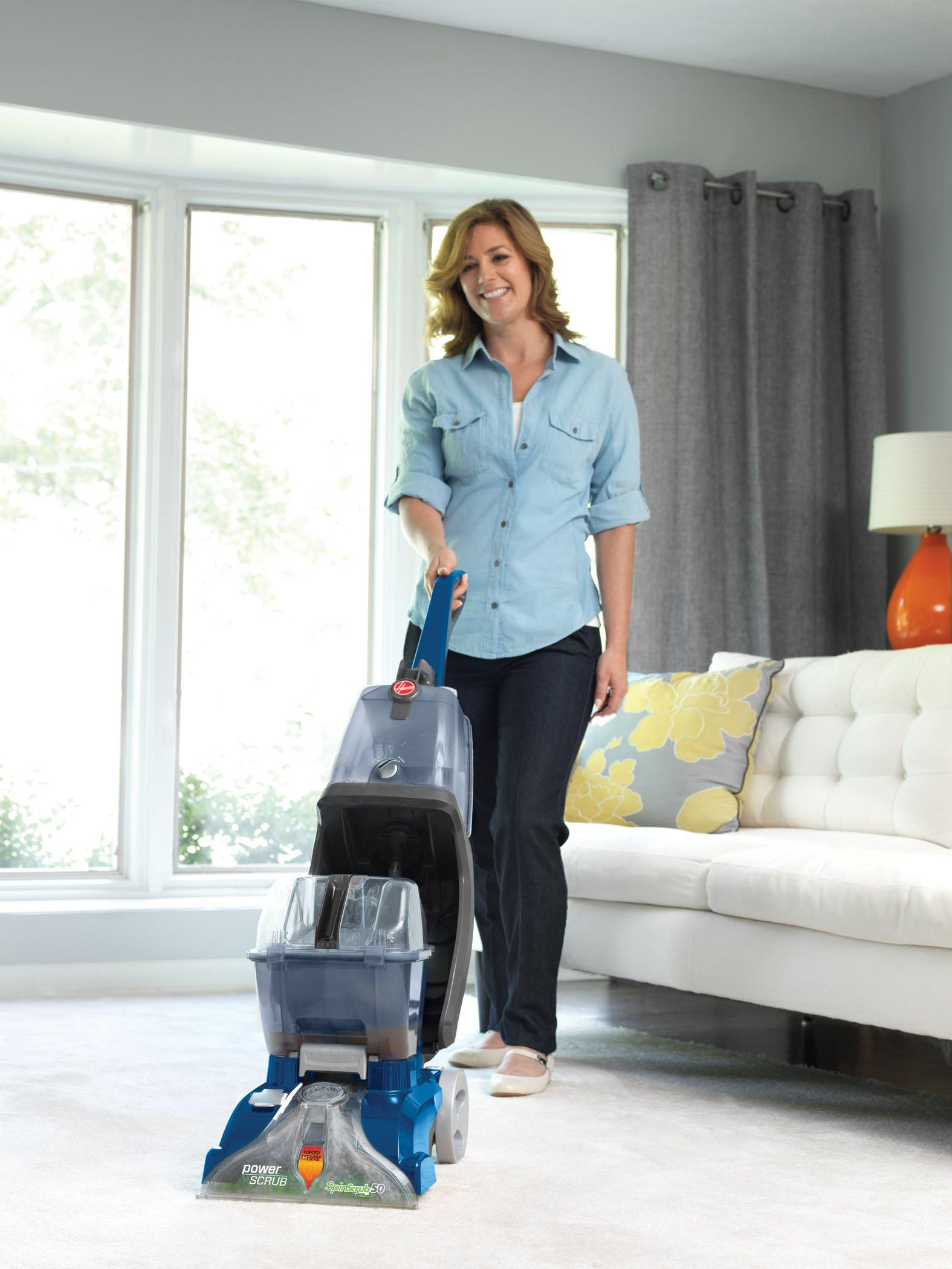 Hoover Fh50141 : hoover, fh50141, Power, Scrub, Deluxe, Carpet, Cleaner, Hoover