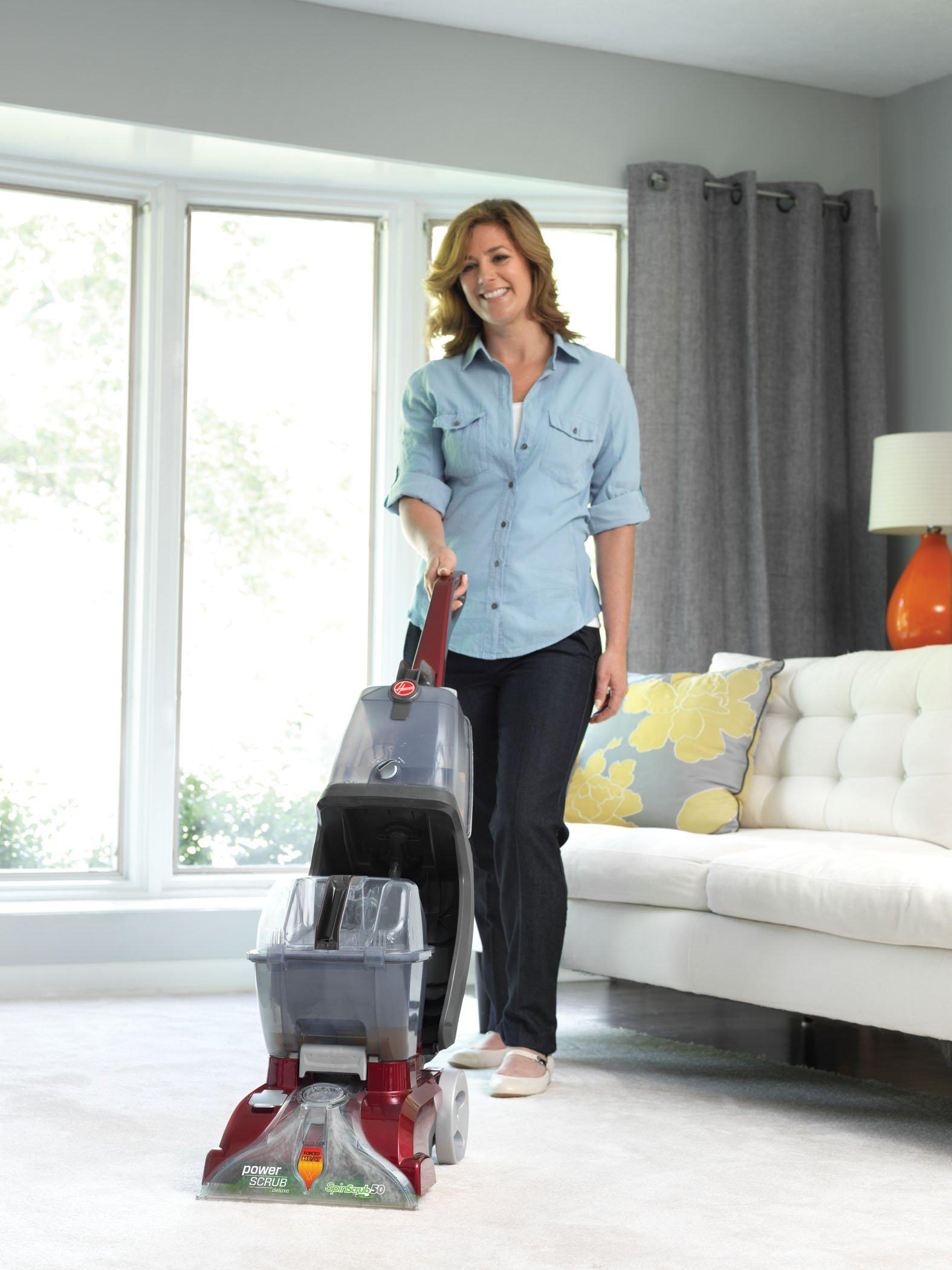 Power Scrub Deluxe Carpet Cleaner  FH50150NC  Hoover
