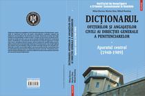 Dictionarul ofiterilor si angajatilor civili, 2009