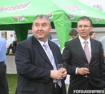 Fratii Viorel si Ioan Micula (foto arhiva)