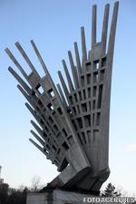 Monumentul Aripi din Piata Presei